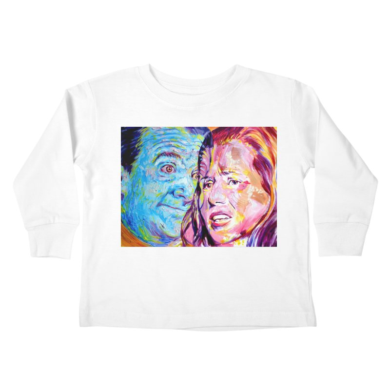 the exact moment Kids Toddler Longsleeve T-Shirt by paintings by Seamus Wray