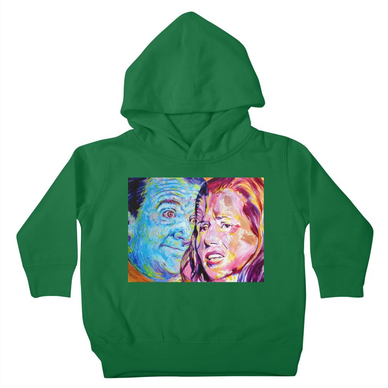 the exact moment Kids Toddler Pullover Hoody by paintings by Seamus Wray