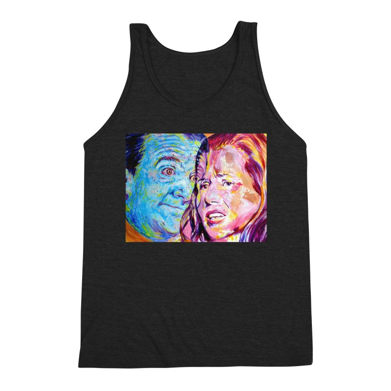 the exact moment Men's Triblend Tank by paintings by Seamus Wray