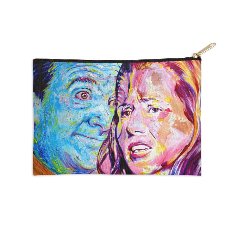 the exact moment Accessories Zip Pouch by paintings by Seamus Wray