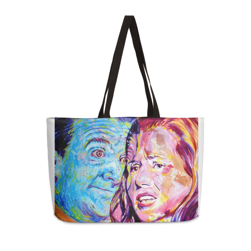 the exact moment Accessories Weekender Bag Bag by paintings by Seamus Wray