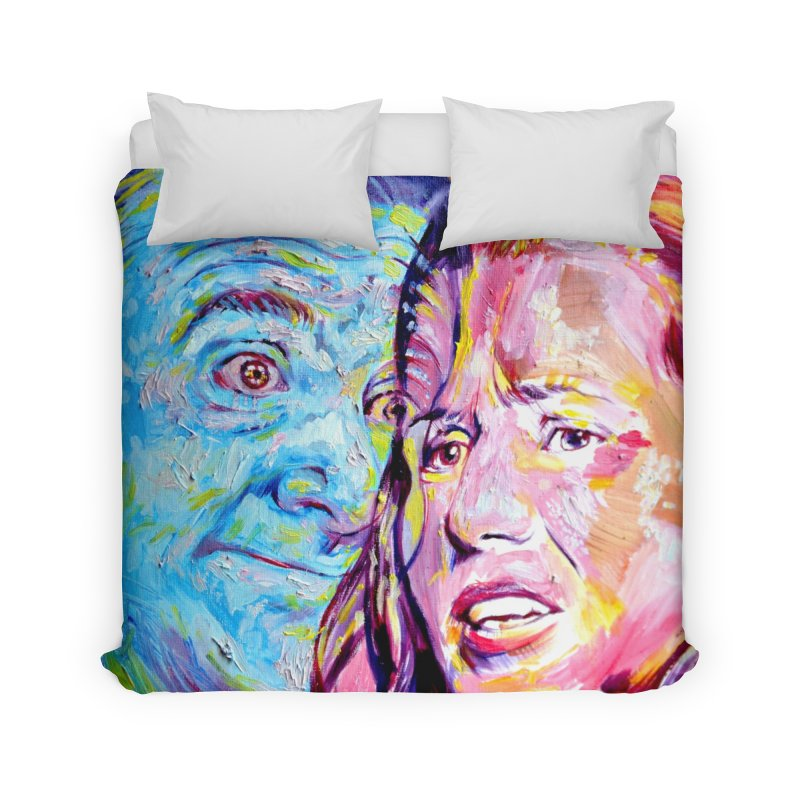 the exact moment Home Duvet by paintings by Seamus Wray