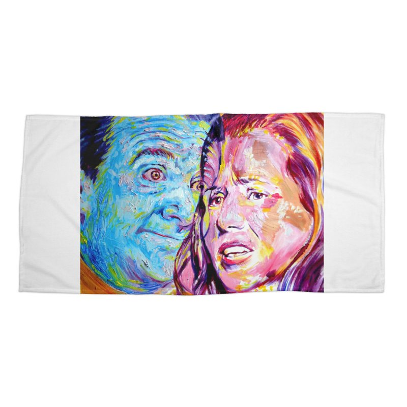 the exact moment Accessories Beach Towel by paintings by Seamus Wray