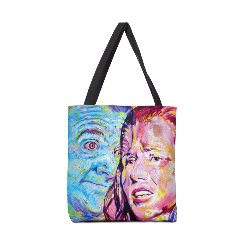 the exact moment Accessories Tote Bag Bag by paintings by Seamus Wray