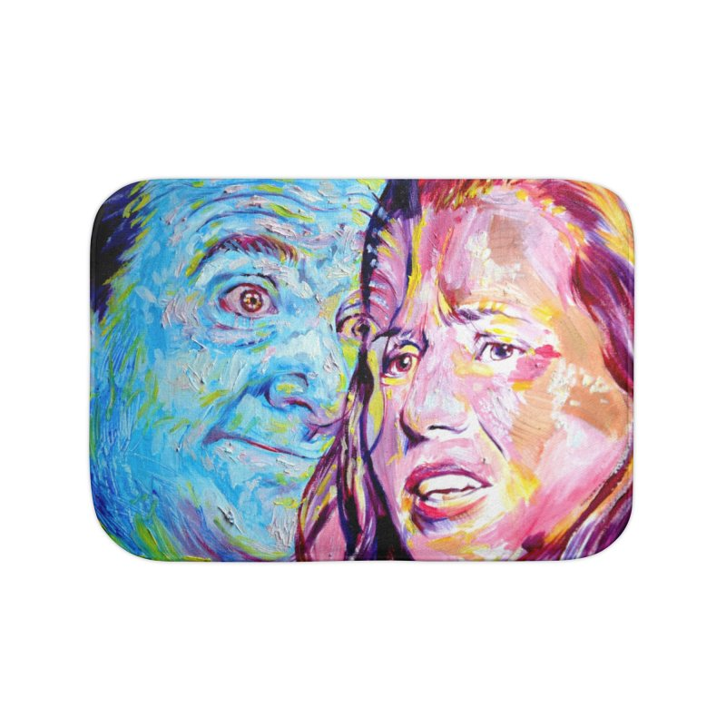 the exact moment Home Bath Mat by paintings by Seamus Wray