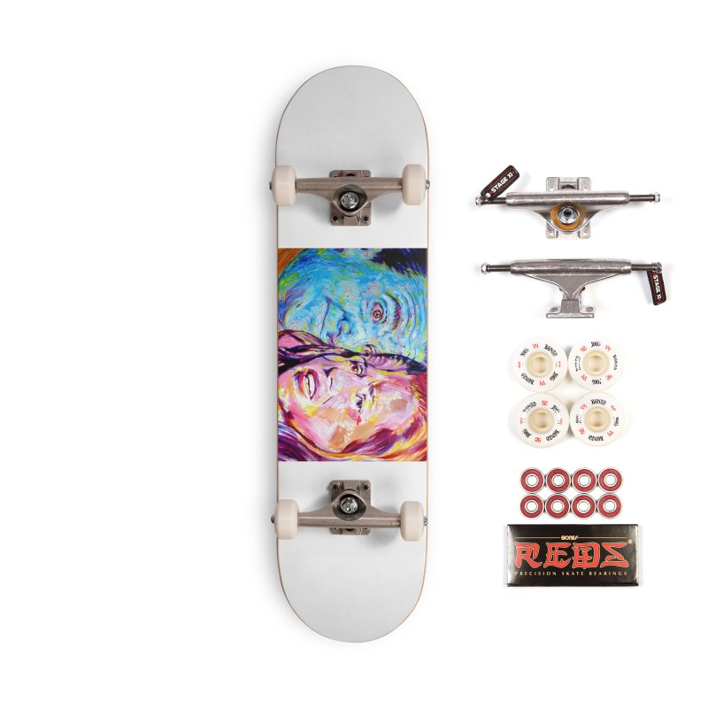 the exact moment Accessories Complete - Pro Skateboard by paintings by Seamus Wray