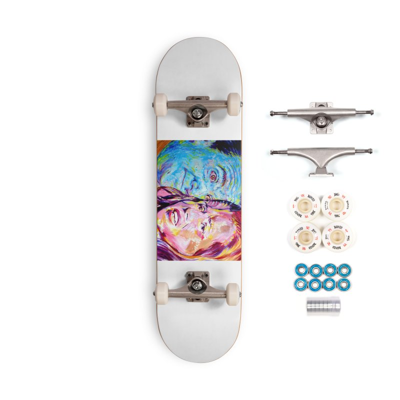 the exact moment Accessories Complete - Premium Skateboard by paintings by Seamus Wray