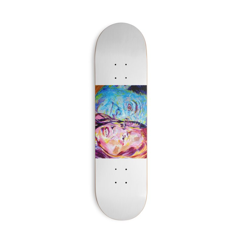 the exact moment Accessories Deck Only Skateboard by paintings by Seamus Wray