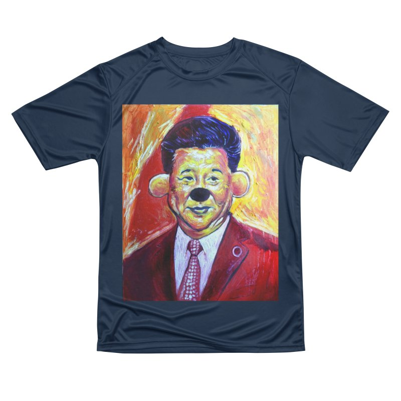 winnie Men's Performance T-Shirt by paintings by Seamus Wray