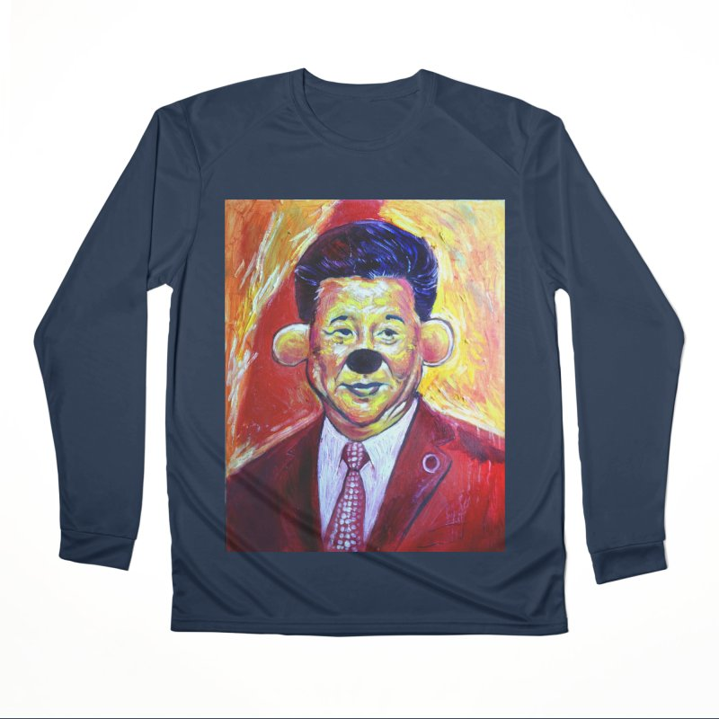 winnie Men's Performance Longsleeve T-Shirt by paintings by Seamus Wray