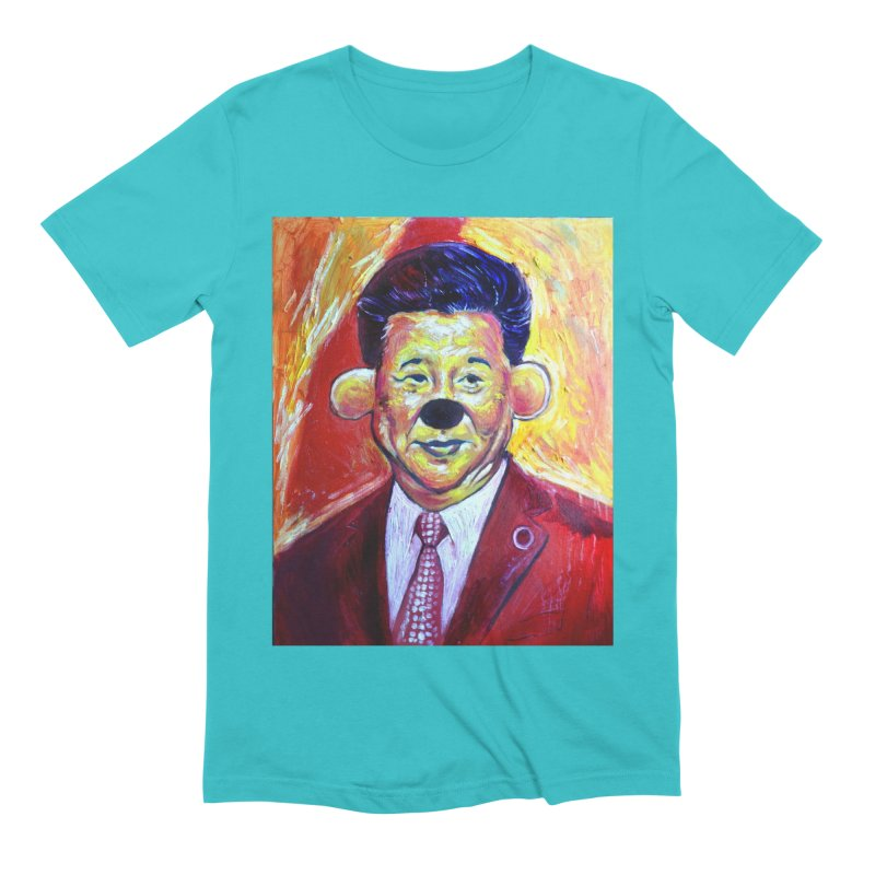 winnie Men's Extra Soft T-Shirt by paintings by Seamus Wray