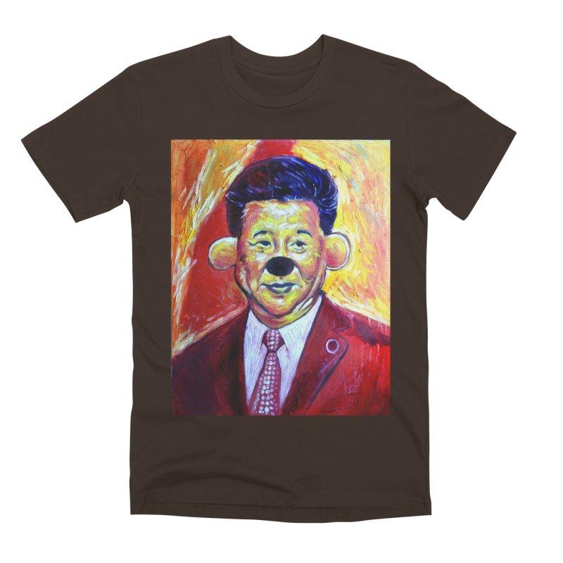 winnie Men's Premium T-Shirt by paintings by Seamus Wray
