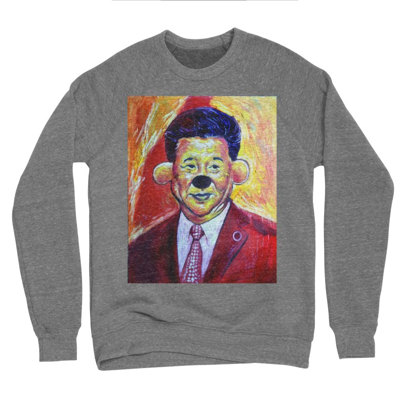 winnie Men's Sponge Fleece Sweatshirt by paintings by Seamus Wray