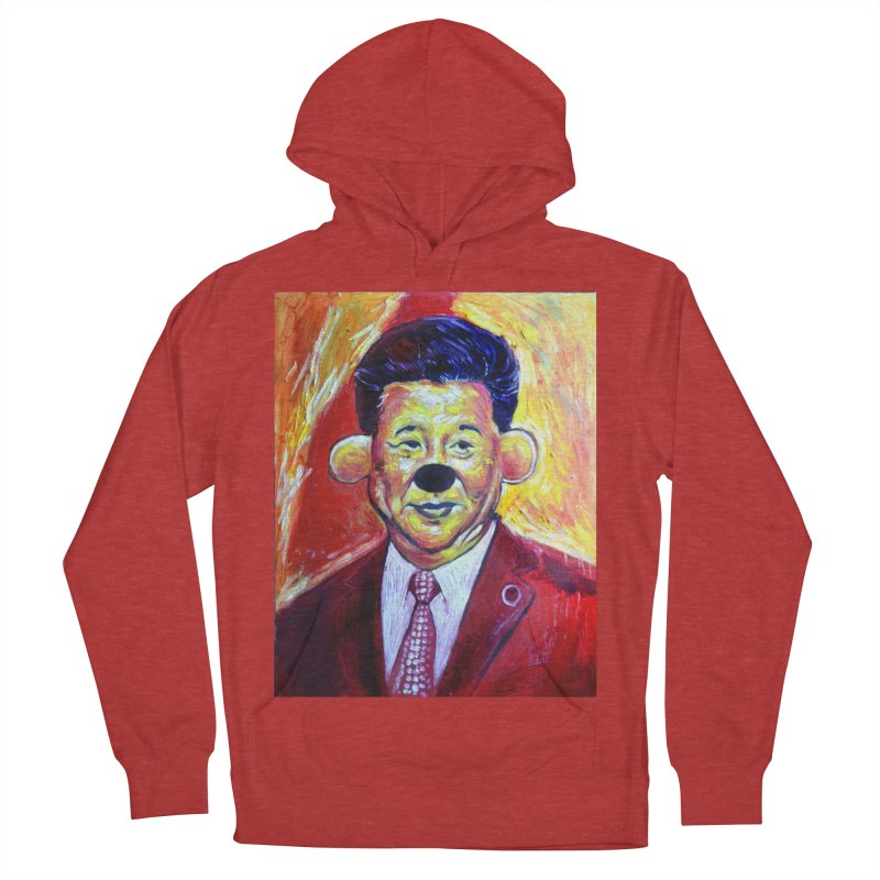 winnie Women's French Terry Pullover Hoody by paintings by Seamus Wray