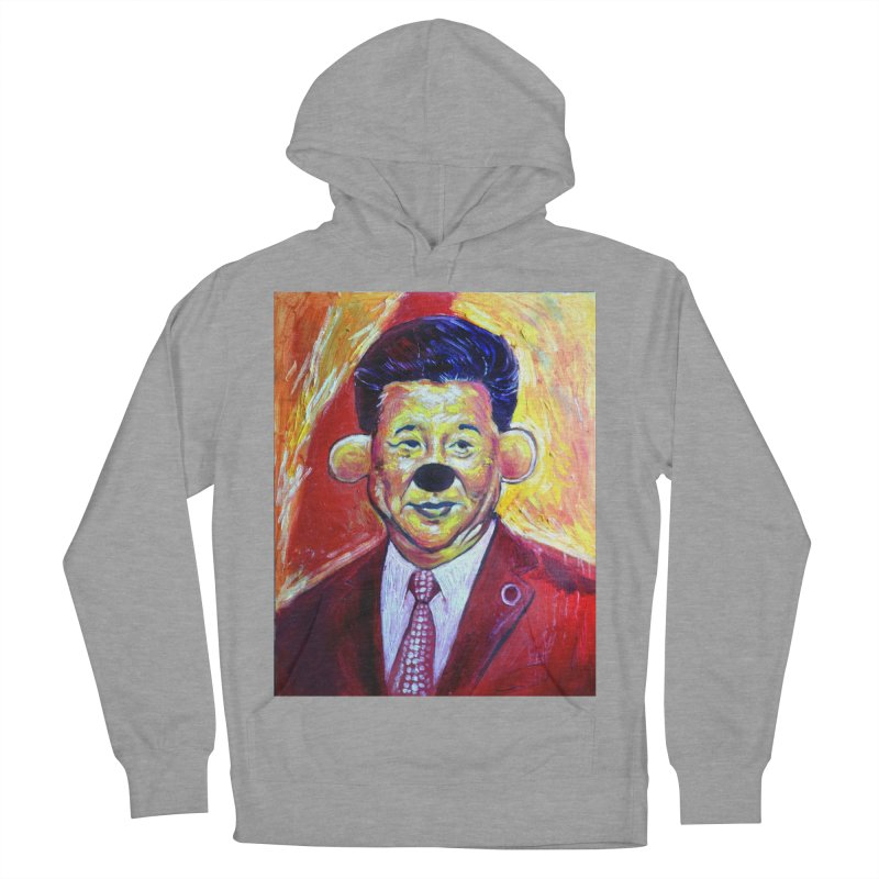winnie Men's French Terry Pullover Hoody by paintings by Seamus Wray