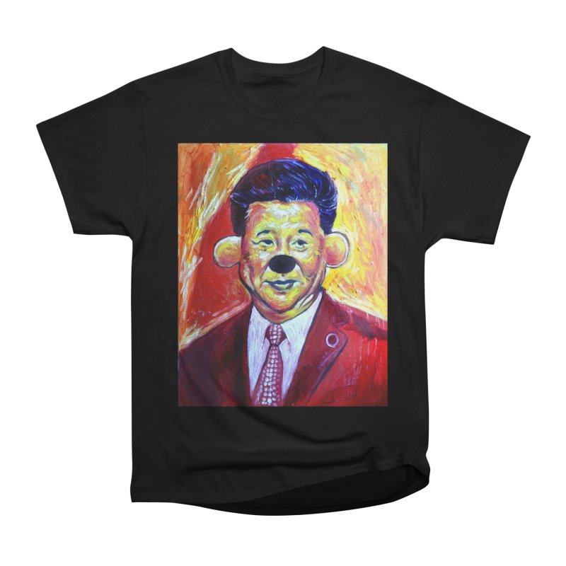 winnie Women's Heavyweight Unisex T-Shirt by paintings by Seamus Wray