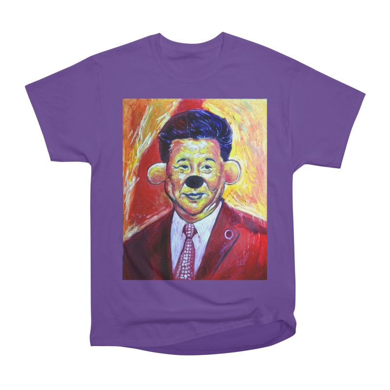 winnie Men's Heavyweight T-Shirt by paintings by Seamus Wray