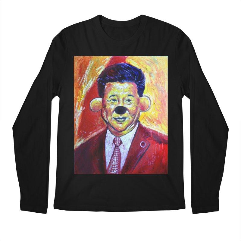 winnie Men's Regular Longsleeve T-Shirt by paintings by Seamus Wray