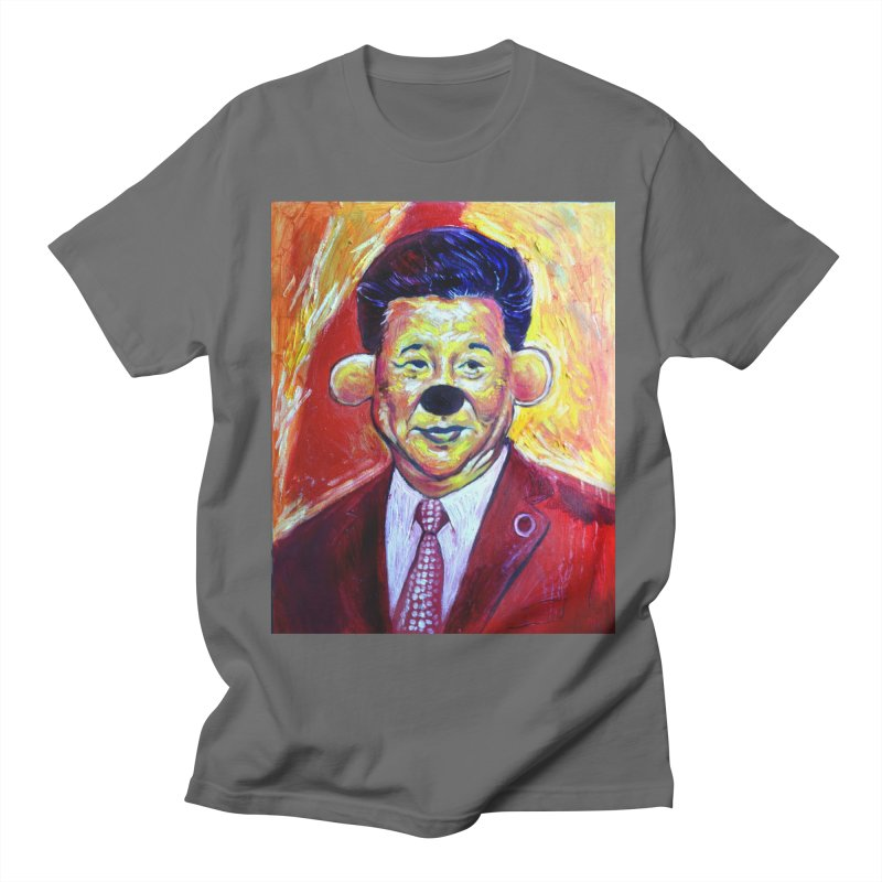winnie Men's T-Shirt by paintings by Seamus Wray