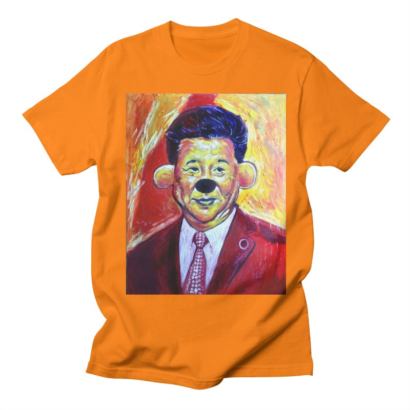 winnie Men's Regular T-Shirt by paintings by Seamus Wray