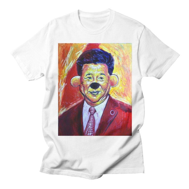 winnie Men's Regular T-Shirt by paintings by Seamus Wray