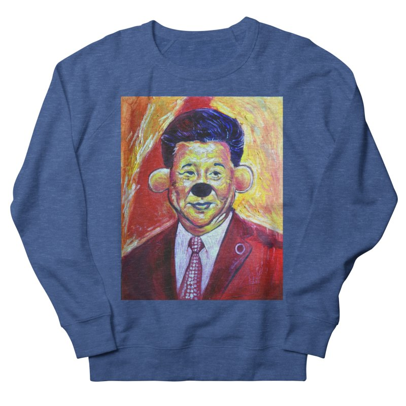 winnie Women's French Terry Sweatshirt by paintings by Seamus Wray