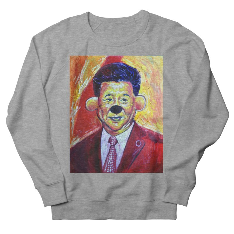 winnie Men's French Terry Sweatshirt by paintings by Seamus Wray