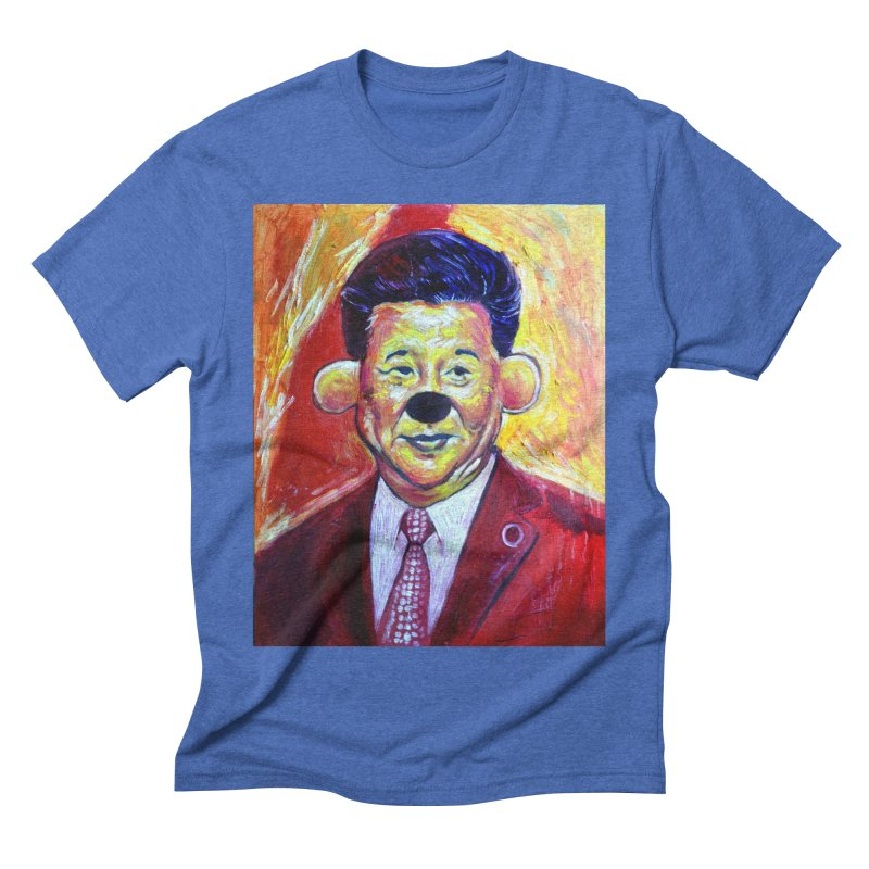 winnie Men's Triblend T-Shirt by paintings by Seamus Wray