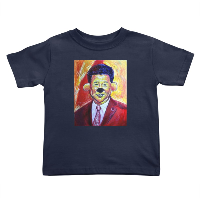winnie Kids Toddler T-Shirt by paintings by Seamus Wray