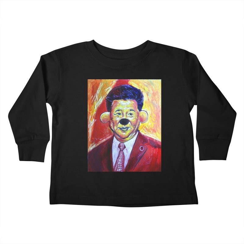 """winnie Kids Toddler Longsleeve T-Shirt by Art Prints by Seama available under """"Home"""""""