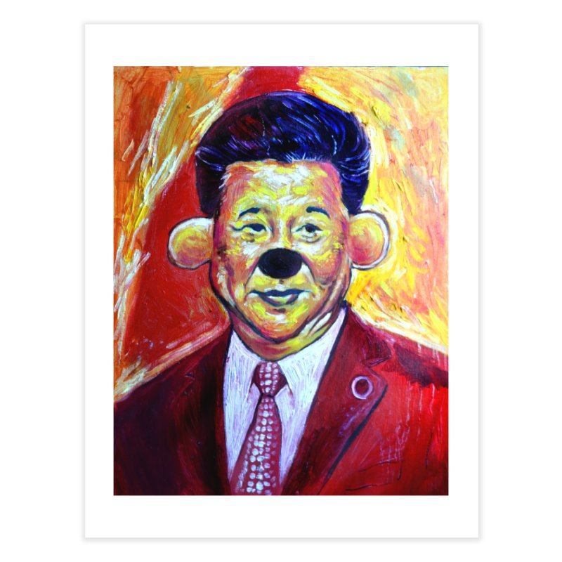 winnie Home Fine Art Print by paintings by Seamus Wray