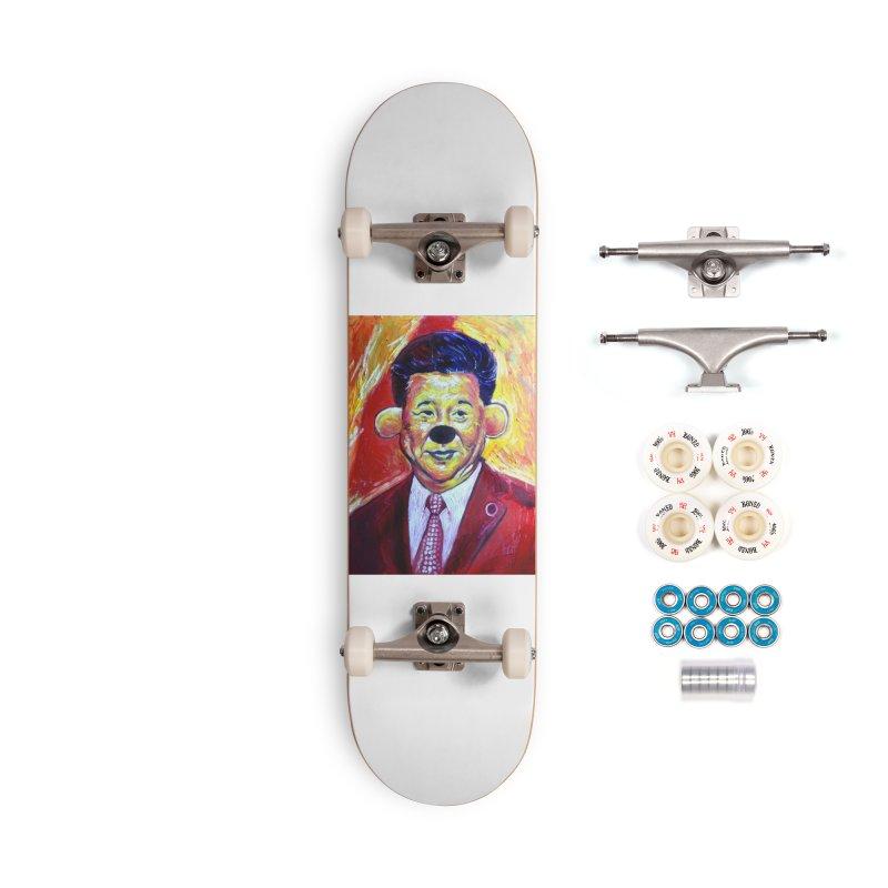 winnie Accessories Complete - Premium Skateboard by paintings by Seamus Wray