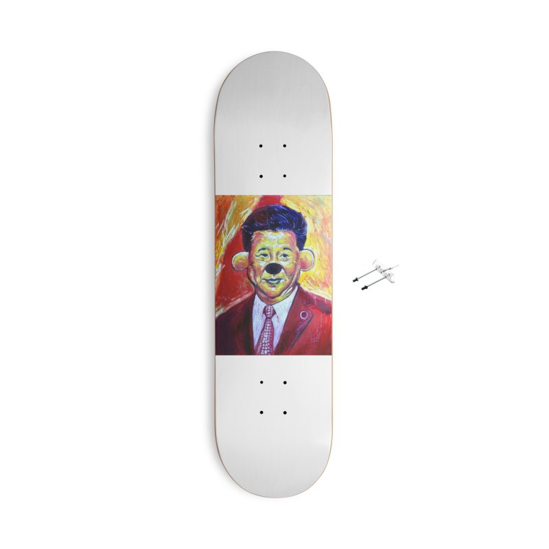 winnie Accessories With Hanging Hardware Skateboard by paintings by Seamus Wray