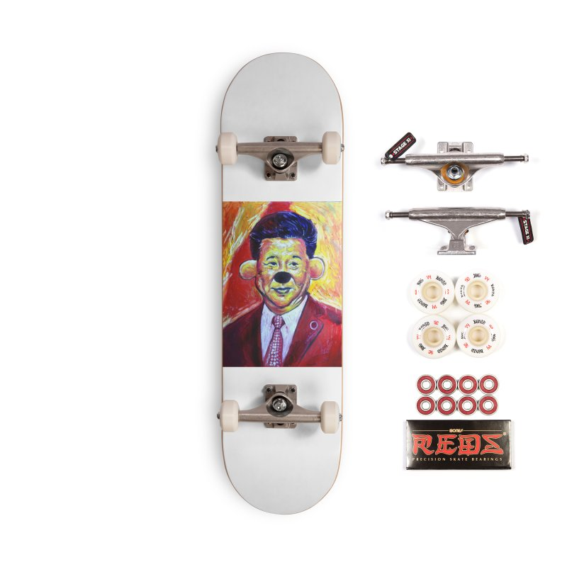 winnie Accessories Complete - Pro Skateboard by paintings by Seamus Wray