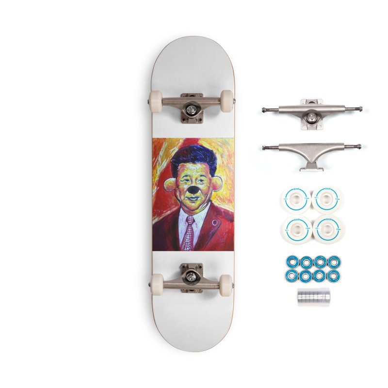 winnie Accessories Complete - Basic Skateboard by paintings by Seamus Wray