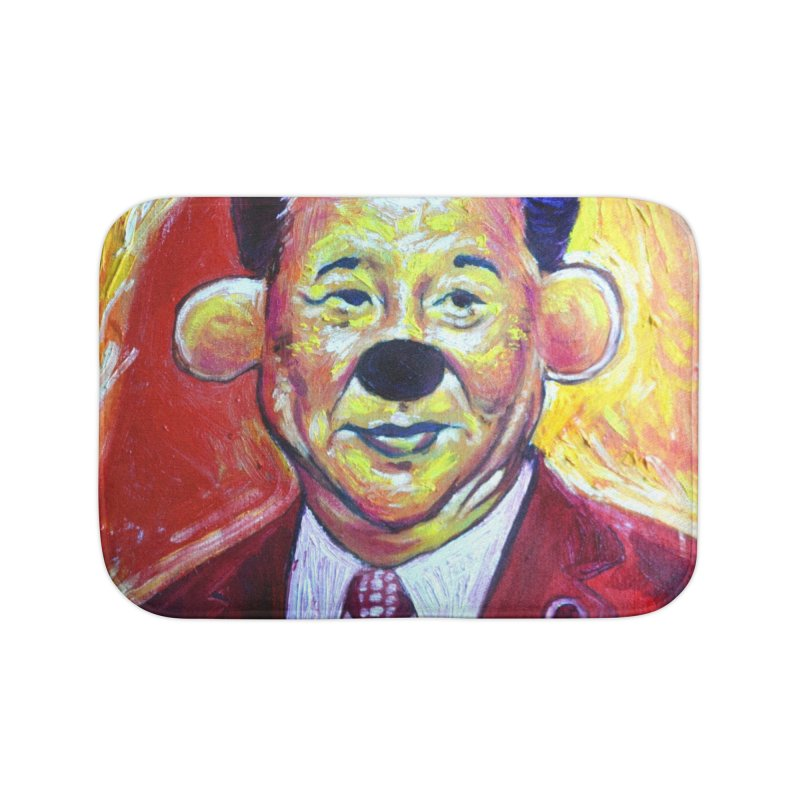 winnie Home Bath Mat by paintings by Seamus Wray