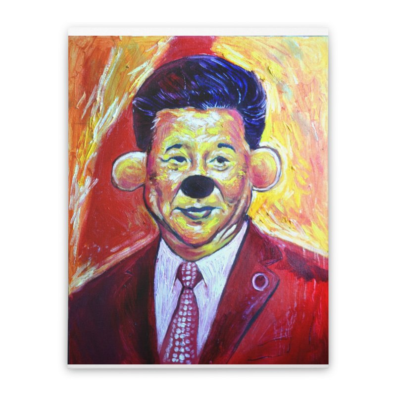 winnie Home Stretched Canvas by paintings by Seamus Wray