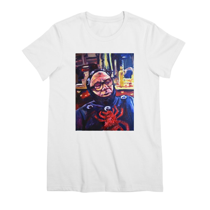 man-spider Women's Premium T-Shirt by paintings by Seamus Wray
