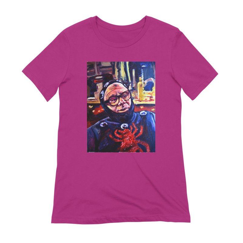 man-spider Women's Extra Soft T-Shirt by paintings by Seamus Wray