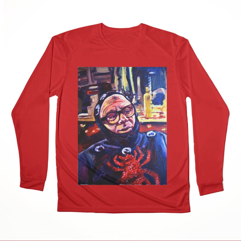man-spider Men's Performance Longsleeve T-Shirt by paintings by Seamus Wray
