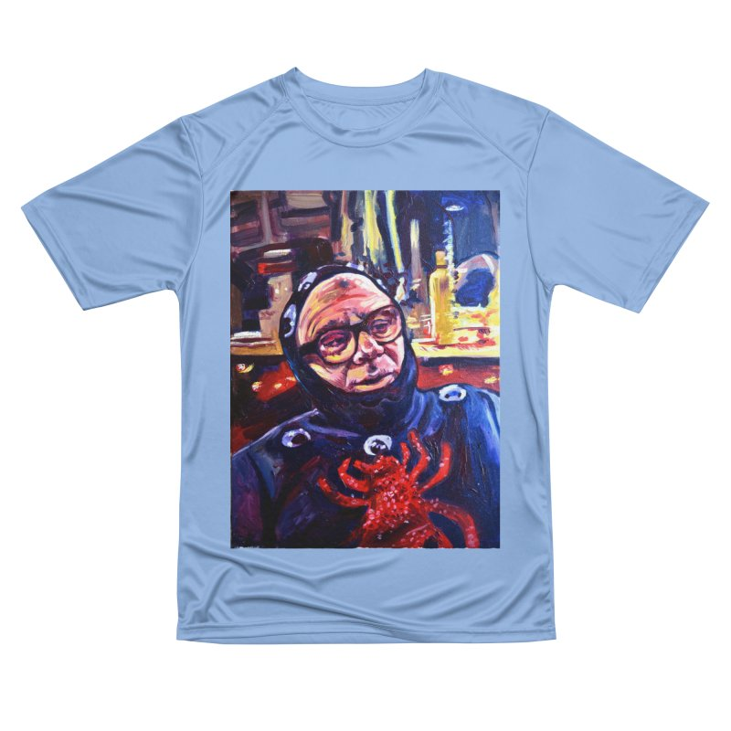man-spider Men's Performance T-Shirt by paintings by Seamus Wray