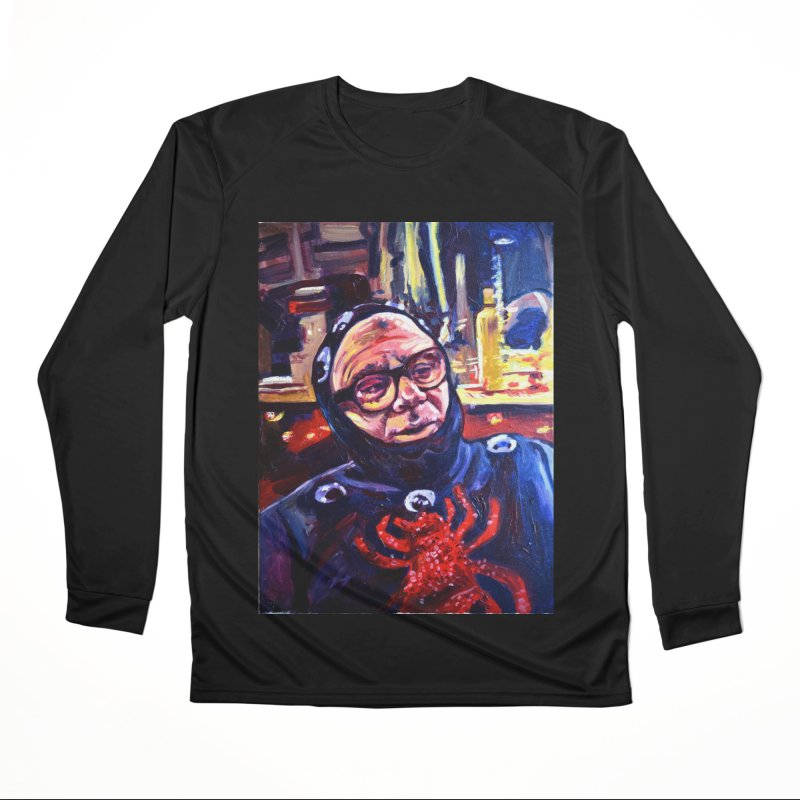 man-spider Women's Performance Unisex Longsleeve T-Shirt by paintings by Seamus Wray