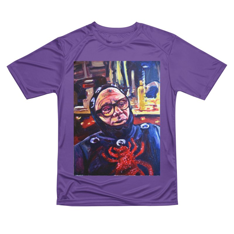 man-spider Women's Performance Unisex T-Shirt by paintings by Seamus Wray
