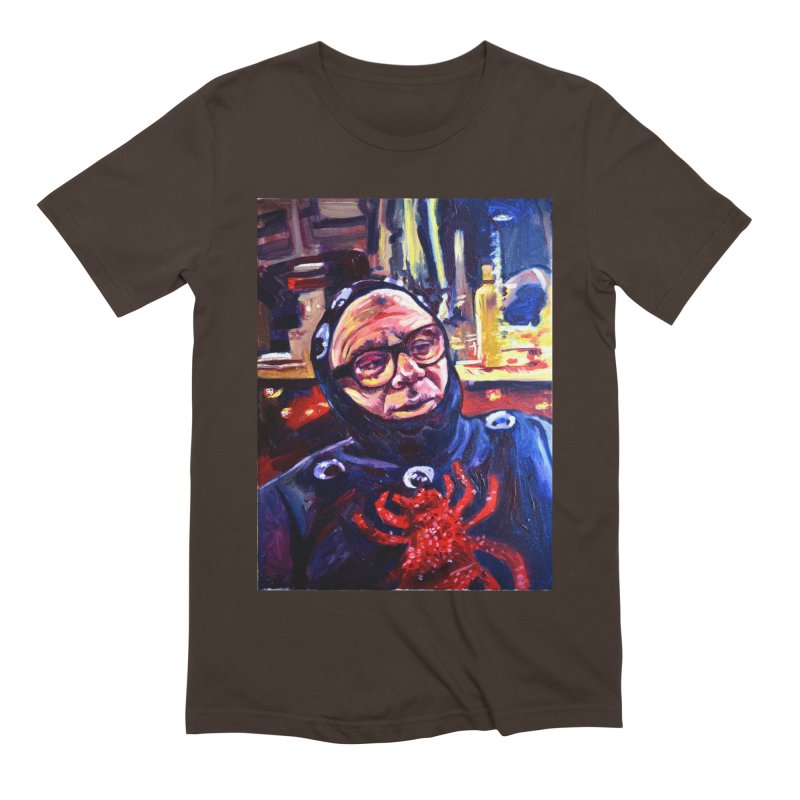 man-spider Men's Extra Soft T-Shirt by paintings by Seamus Wray