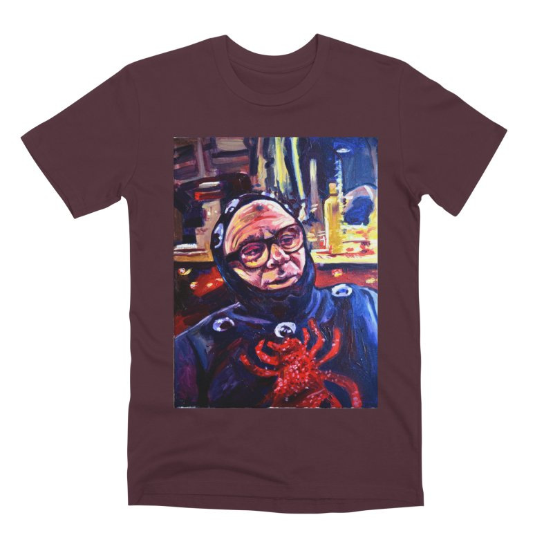 man-spider Men's Premium T-Shirt by paintings by Seamus Wray