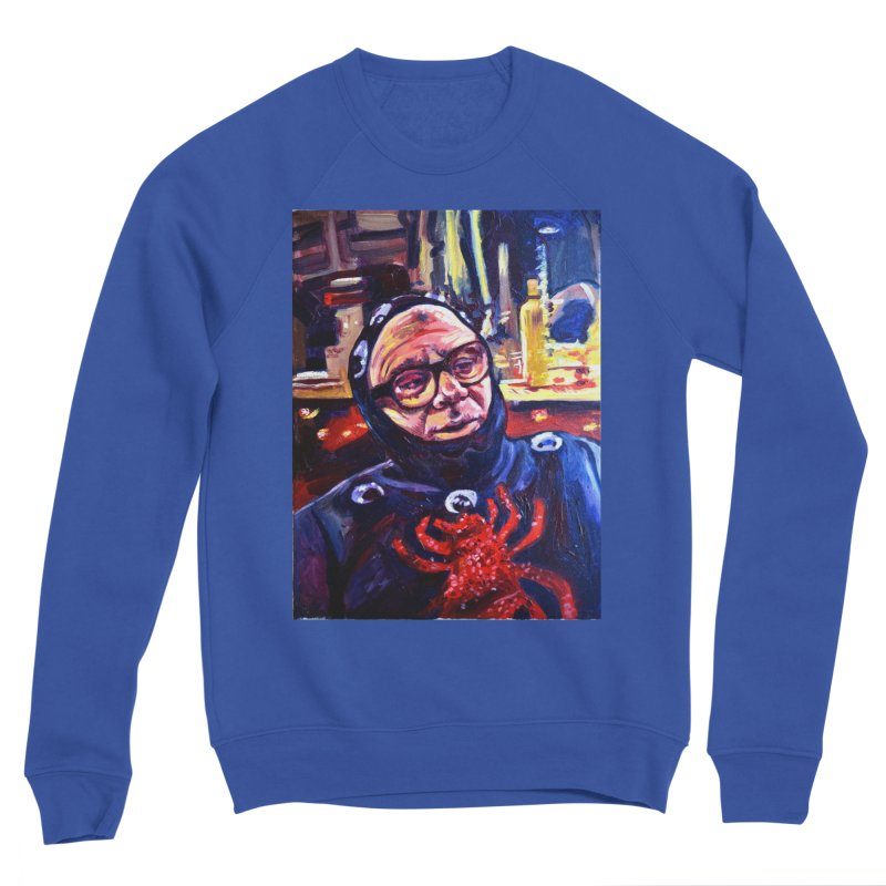 man-spider Men's Sponge Fleece Sweatshirt by paintings by Seamus Wray