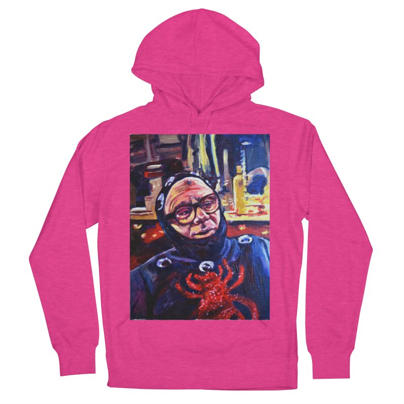man-spider Women's French Terry Pullover Hoody by paintings by Seamus Wray