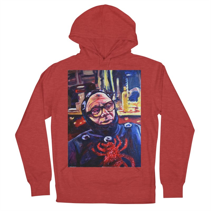 man-spider Men's French Terry Pullover Hoody by paintings by Seamus Wray