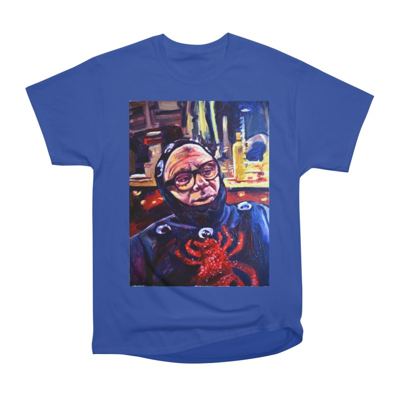 man-spider Women's Heavyweight Unisex T-Shirt by paintings by Seamus Wray