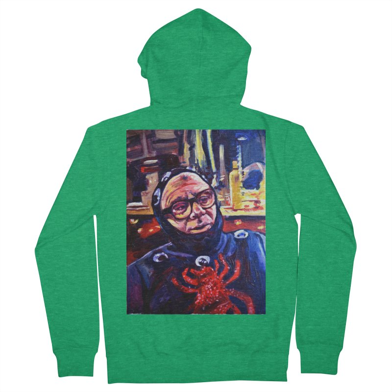 man-spider Women's Zip-Up Hoody by paintings by Seamus Wray